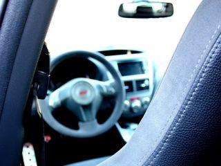 Subaru Impreza STI Extra Thick Alcantara Steering Wheel 08 09 2010 Red