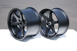 Honda S2000 Wheels Rims 18 Varrstoen Matte Black 18x9 5 30 18x10 5 30