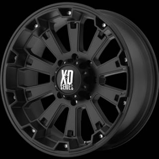 20x9 Black Wheels Rims XD XD800 5x150 Tundra TRD