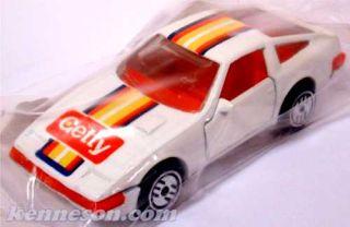 Nissan 300zx Getty White Hot Wheels 1990 Bag Promo