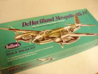 Guillows DeHavilland Mosquito MK IV Model Airplane Kit