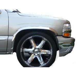 1999 2006 Chevrolet Silverado GMC Sierra Fender Trim by Chrome