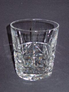 Waterford Crystal Kylemore Cut Whisky Tumbler Glasses