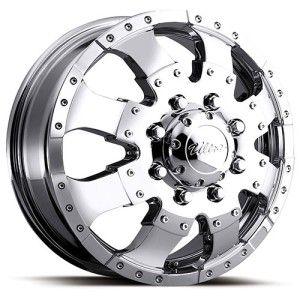 17 inch Ultra Goliath Dually Dualie Wheel Rim 8x6 5 8x165 1 Silverado