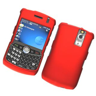 For Blackberry 8330 Curve Hard Snap on Cover Case Red