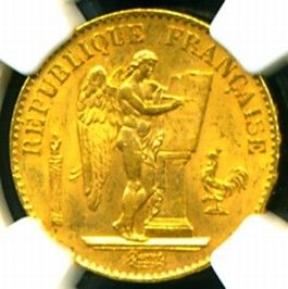The Scans do not do justice to this Beautiful Gold Coin which is Much