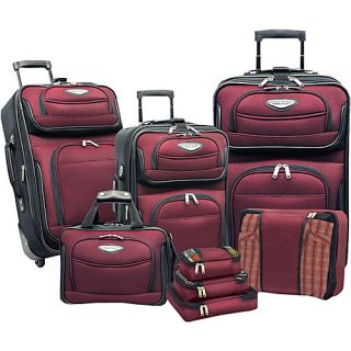 Travelers Choice Amsterdam 8 Piece Luggage Set