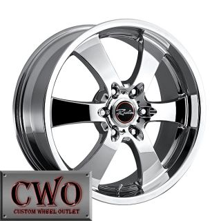 20 Chrome Raceline Maxim 6 Wheels 6x139 7 6 Lug GMC Chevy Tahoe Titan
