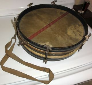 Super cool and rare antique/vintage Ludwig snare drum, circa 1920s