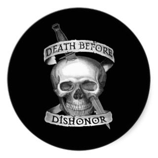 Death Before Dishonor stickers for your vehicle!