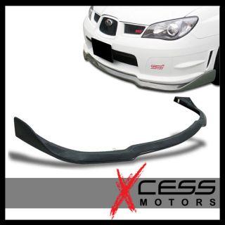 Subaru Impreza WRX STI Front Bumper Lip Spoiler 06 07