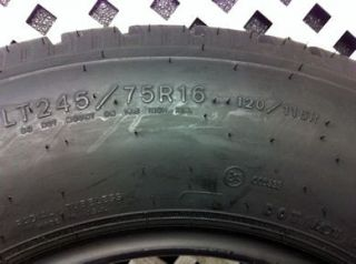 One Goodyear Wrangler HT Tire, LT245/75/16, Dot 4309, Tread 10 11/32.