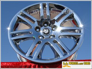 XK8 XKR 18 Set of 4 Chrome Factory Wheels Rims Exchange 59756