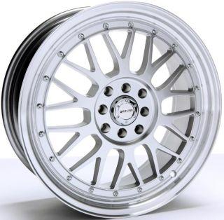 Redline 125 14x6 0 Wheels 4x100 114 3 ET25 Rims Matte Gun Metal