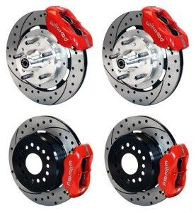 Front Rear Disc Brake Kit Wilwood 140 7675 Dr