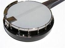 New High Quality 18 Bracket Pro 5 String Banjo w Mahogany Resonator