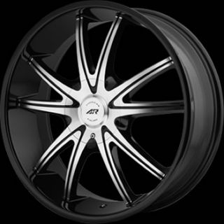 22x9 Black Wheel American Racing AR897 6x135 6x5 5