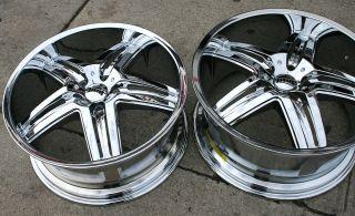 Dub Illusion S160 20 Chrome Rims Wheels Camaro 93 01 20 x 8 5 9 5 5H