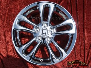 New 17 Honda Civic SI Chrome Wheels Rims Accord Exchange 63901