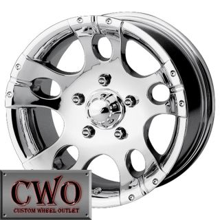15 Polished ion 158 Wheels Rims 5x114 3 5 Lug Jeep Wrangler Ranger