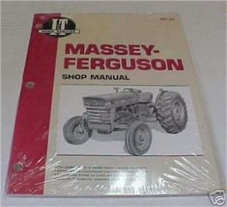 Massey Ferguson Tractor MF135 150 165 I T Shop Manual