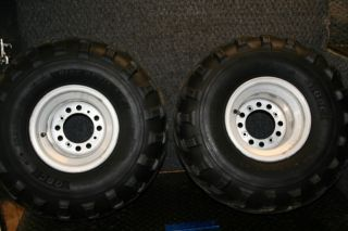 Kawasaki KFX700 KFX 700 Rear Wheels Tires Stock