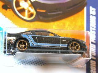 Hot Wheels 2011 144 2010 Ford Mustang GT Blk K Mart