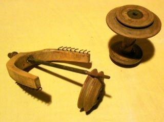 Antique Spinning Wheels Spool Flyer