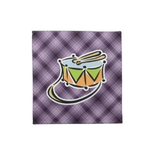 Purple Snare Drum Printed Napkin