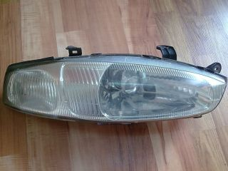 JDM Mitsubishi Mirage Asti Colt Cyborg Crystal Headlights Set CJ2A