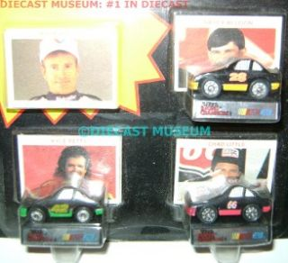 Chad Little Petty Allison Mini Stock Cars 1 144 Diecast