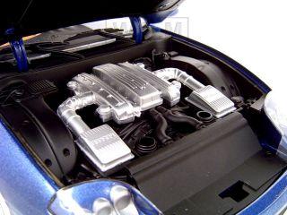 Ferrari Super America Blue 1 18 Hot Wheels Diecast