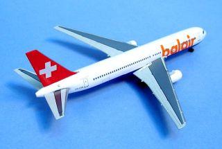 Dragon Wings Swiss Balair B767 300 HB IHW 55403