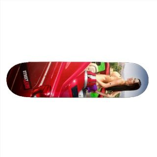Street King Magazine model Tabitha Taylor Skateboard Decks