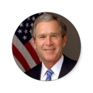 George W. Bush Stickers