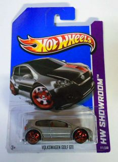 Hot Wheels 2013 177 HW Showroom VW Golf GTI Canadian Card Mint on Card