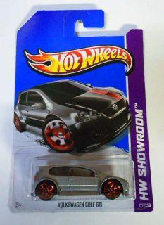 Hot Wheels 2013 177 HW Showroom VW Golf GTI Canadian Card Mint on Card