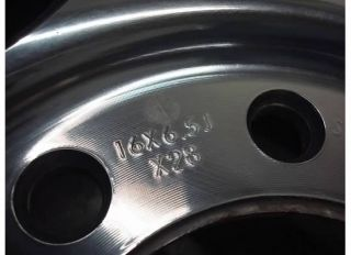 Chevy SILVERADO GMC SIERRA 2500 HD WHEEL Polished Rim OEM 00 10 3500