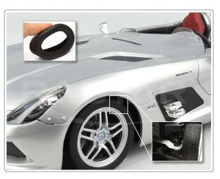 12 Silver Mercedes Benz SLR Z199 Remote Control Car RTR