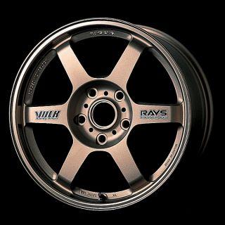 Rays Volk Racing TE37 Silver Wheels 18 x8 5 10 5 Porsche 993 996 997