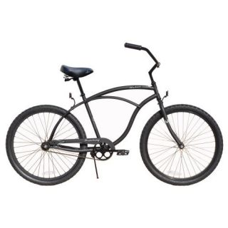 Firmstrong 26 Beach Cruiser Bike Mens Matt Black Urban