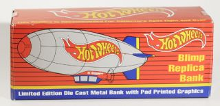 Liberty Classics Spec Diecast Hot Wheels Blimp Bank MIB Mint Die Cast