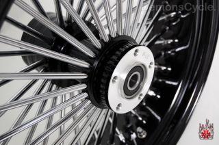Set of Black Fat Mammoth Wheels 21x2 15 18x5 5 48 Spokes 250 Fits