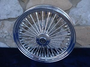 21X3 & 18X8.5 DNA MAMMOTH 52 SMOOTH SPOKE WHEEL SET FOR HARLEY
