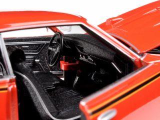 1969 Pontiac GTO Judge Orange 1 24 Diecast Car Model