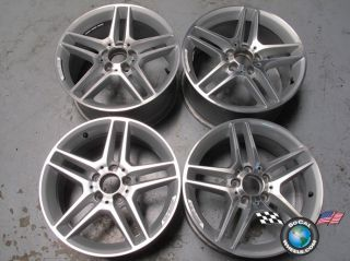 2012 Mercedes C300 C350 AMG Factory 17 Wheels Rims OE W204 85219 85220