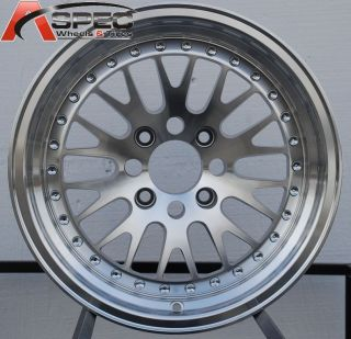 16X8 VARRSTOEN V3 4x100 +15 MACHINED WHEEL FIT ACURA INTEGRA GSR HONDA