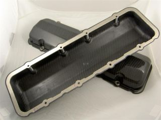 Carbon Fiber Big Chief Valve Covers