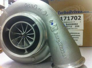 Borg Warner S400SX4 Mic X75R 171702 Turbo Billet High Flow 11 Blade