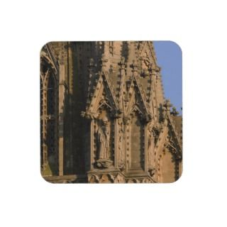 Moonrise Over St. Marys Church Drink Coasters